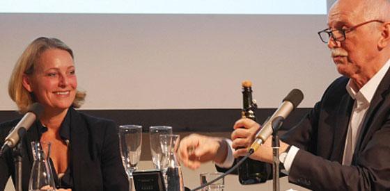 Wieland Backes, Miriam Meckel: Position beziehen <br/>(c) Heiner Wittmann