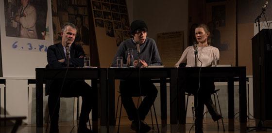 Durs Grünbein, Kerstin Preiwuß, Tristan Marquardt: Unmögliche Liebe – Die Kunst des Minnesangs in neuen Übertragungen, Donnerstag, 15.02.18               /                   20.00              Uhr <br/>(c) Simon Adolphi