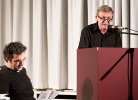 Jean Echenoz, Navid Kermani: Carte Blanche <br/>(c) Lukas Stark