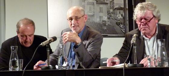 Andrew Nathan, Tilman Spengler: Hegemonialmacht China? <br/>(c) Heiner Wittmann