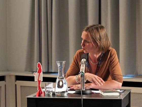 Olga Grjasnowa: Der Russe ist einer, der Birken liebt, Dienstag, 19.06.12               /                   19.00              Uhr <br/>(c) Sebastian Becker