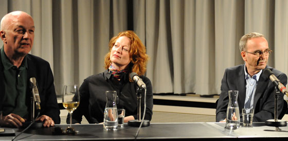 Jossi Wieler, Eva Kleinitz, Thomas Wördehoff: Kraftwerk Oper <br/>(c) Kristina Popov