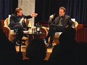 Josef Haslinger, Hanns-Josef Ortheil: Spätlese - Josef Haslinger, Freitag, 28.02.03               /                   21.00              Uhr <br/>(c) Heiner Wittmann