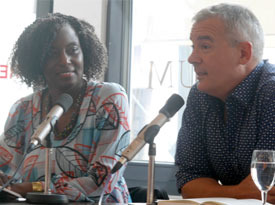 Yvonne Adhiambo Owuor: Der Ort, an dem die Reise endet, Donnerstag, 06.07.17               /                   20.00              Uhr <br/>(c) Heiner Wittmann