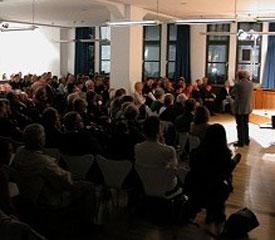 Karl Ganser: Warum bauen wir so (schlecht)? Eine Initiative für mehr Baukultur,                                                               Dienstag, 14.10.03               /                   20.00              Uhr                               <br/>(c) Heiner Wittmann