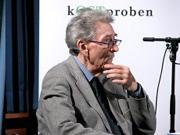 Oskar Pastior, Herta Müller, Ernest Wichner: Vom Hungerengel eins zwei drei - Ergebnisse einer Spurensuche <br/>(c) Heiner Wittmann
