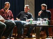 Gerhard Knoblauch, Andy Goldner, Lars Besa, Johannes Strachwitz: Play it again! - 50 Jahre Popmusik in der Region Stuttgart <br/>(c) Heiner Wittmann