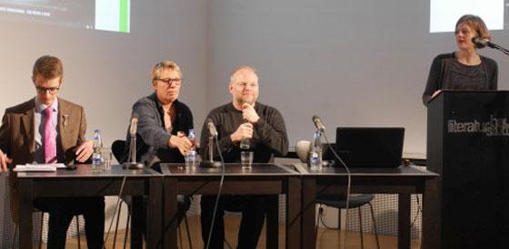 Kristof Magnusson, Lann Hornscheidt: Queeres Lesen hören <br/>(c) Heiner Wittmann
