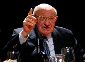 Marcel Reich-Ranicki, Hanns-Josef Ortheil: Spätlese - Marcel Reich-Ranicki <br/>(c) Heiner Wittmann