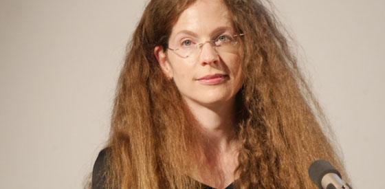Sandra Richter: Eine Weltgeschichte der deutschen Literatur <br/>(c) Heiner Wittmann