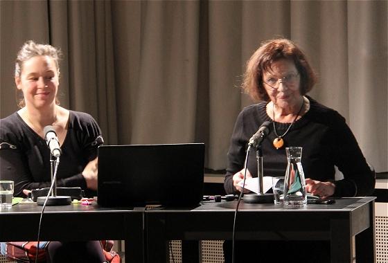 Monika Rinck, Zsuzsanna Gahse: Das ist doch ein Witz <br/>(c) Heiner Wittmann