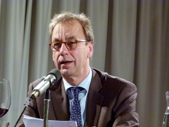 Michael Klett, Christian Rotta, Wolfgang Schorlau: Druck auf allen Seiten? Autoren und die Zukunft der Verlage <br/>(c) Heiner Wittmann