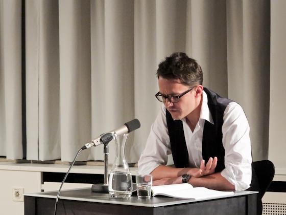 Norbert Beilharz: Die Vermessung des Ruhms <br/>(c) Sebastian Becker