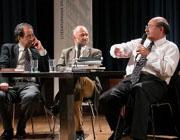 Antonio Skármeta, Rafik Schami: Weltliteraturen, Freitag, 11.04.03               /                   20.00              Uhr <br/>(c) Heiner Wittmann