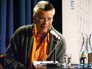 Dieter Schlesak: Grenzerfahrungen, Mittwoch, 31.01.07               /                   20.00              Uhr <br/>(c) Heiner Wittmann