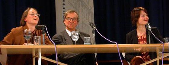 Peter Hamm: Peter Handke - Film und Filmgespräch <br/>(c) Heiner Wittmann