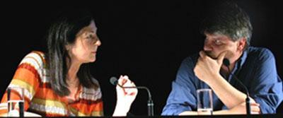 """Raoul Schrott: Mein """"Gilgamesch"""", Donnerstag, 16.05.02               /                   20.00              Uhr <br/>(c) Heiner Wittmann"""