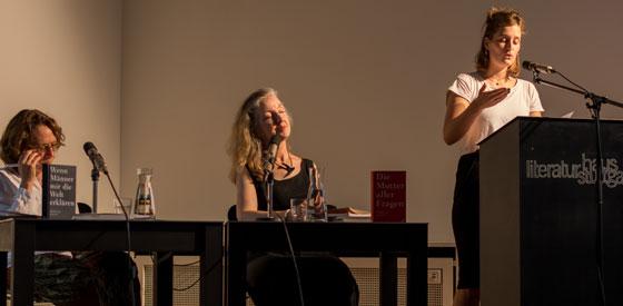 Rebecca Solnit: Mansplaining <br/>(c) Simon Adolphi