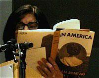Susan Sontag: In Amerika <br/>(c) Heiner Wittman