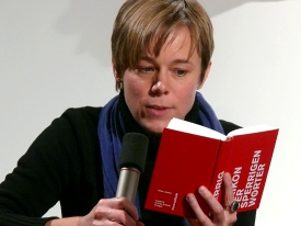 Anja Utler, Sabine Peters, Grazia Pergoletti, Tim Krohn: Sperrige Wörter - In deutschen Dialekten <br/>(c) Heiner Wittmann