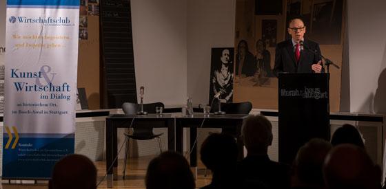 Eberhard Stilz: Die Religion und das Geld <br/>(c) Simon Adolphi