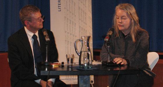 Marlene Streeruwitz: Trauma. Retraumatisierung. Und die Behauptung der Wirklichkeitslosigkeit des Fiktiven. <br/>(c) Tilman Eberhardt