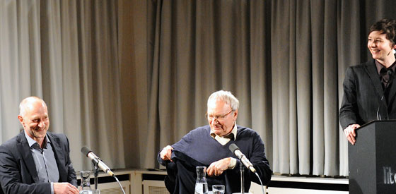Uwe Timm: Vogelweide, Donnerstag, 27.02.14               /                   20.00              Uhr <br/>(c) Kristina Popov