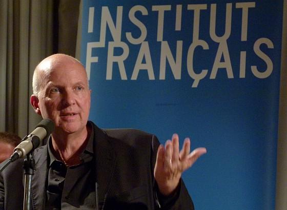 Jean-Philippe Toussaint: Nackt <br/>(c) Heiner Wittmann