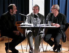 Omar Lara, José F. A. Oliver: Pequeño diario - Kleines Tagebuch, Mittwoch, 10.12.03               /                   20.00              Uhr <br/>(c) Heiner Wittmann