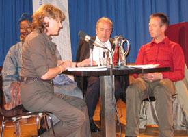Aminata D. Traoré: J'accuse...!, Donnerstag, 14.06.07               /                   20.00              Uhr <br/>(c) Tilman Eberhardt