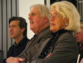 Georg Klein, Ahmet Ümit, Uwe Kolbe, Bejan Matur: Deutsch-türkische Literaturnacht 2005 <br/>(c) Heiner Wittmann