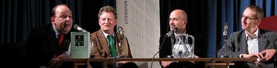 Michael Klett, Carlo Feltrinelli, Jean Mattern: Kultur und Verlagswesen heute <br/>(c) Heiner Wittmann