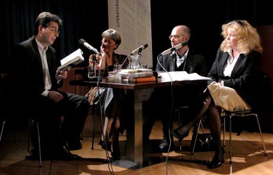 Viola Roggenkamp, Vladimir Vertlib, Gábor Schein: Von Generation zu Generation <br/>(c) Heiner Wittmann