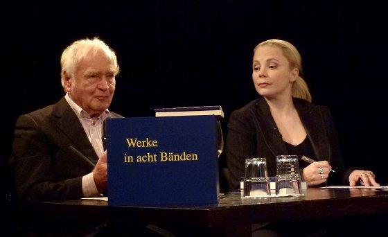 Martin Walser: Ein literarisches Wunschkonzert, Montag, 09.01.12               /                   20.00              Uhr <br/>(c) Heiner Wittmann