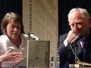 Martin Walser, Alissa Walser: Das geschundene Tier, Dienstag, 27.03.07               /                   20.00              Uhr <br/>(c) Heiner Wittmann