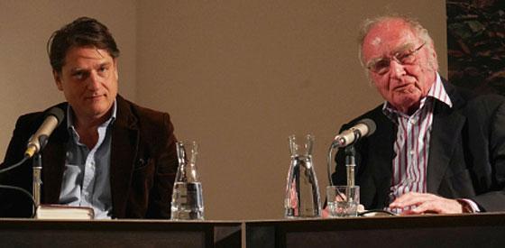 Martin Walser, Jakob Augstein: Das Leben wortwörtlich <br/>(c) Heiner Wittmann