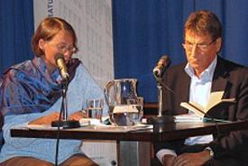 Claudio Magris: Wassergrün - Marisa Madieri, Freitag, 24.09.04               /                   20.00              Uhr <br/>(c) Literaturhaus Stuttgart