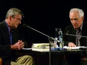 Dieter Wellershoff: Der lange Weg zum Anfang, Dienstag, 24.04.07               /                   20.00              Uhr <br/>(c) Heiner Wittmann