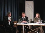 Katharina Thalbach, Gerd Haffmans: Oscar Wilde, Montag, 25.10.04               /                   20.00              Uhr <br/>(c) Heiner Wittmann