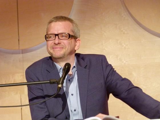 Roger Willemsen, Annette Schiedeck, Jens-Uwe Krause: Das Hohe Haus <br/>(c) Heiner Wittmann