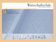 Werner Sobek: Formfindungsprozesse und Architektur,                                                               Montag, 29.11.04               /                   20.00              Uhr                               <br/>(c) Heiner Wittmann