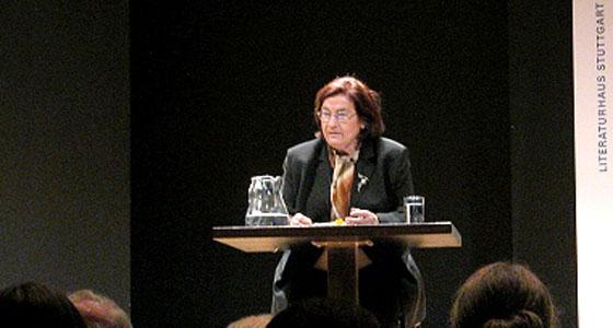 Christa Wolf: Ein Tag im Jahr, Donnerstag, 11.12.03               /                   20.00              Uhr <br/>(c) Heiner Wittmann