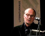 Wolf Wondratschek: Bindungen - samt den Fügungen des Zufalls, die es dahingebracht <br/>(c) Heiner Wittmann