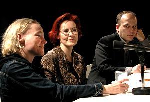 Norbert Zähringer, Nina Jäckle: So - Es gibt solche, Donnerstag, 21.11.02               /                   20.00              Uhr <br/>(c) Heiner Wittmann