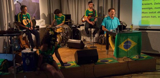 Zé do Rock, Banda xangô: Per Anhalter durch die brasilianische Galaxis <br/>(c) Sebastian Wenzel