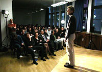 Timo Brunke, Boris Kerenski, José F. A. Oliver, Ulrike Wörner: Zetteldämmerung, Dienstag, 09.04.02               /                   20.00              Uhr <br/>(c) Heiner Wittmann